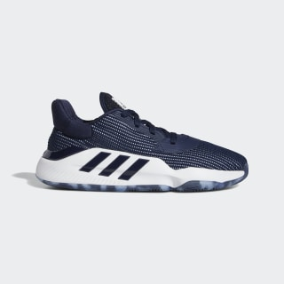 Pro Bounce 2019 Low Schuh Collegiate Navy / Cloud White / Cloud White EF9840