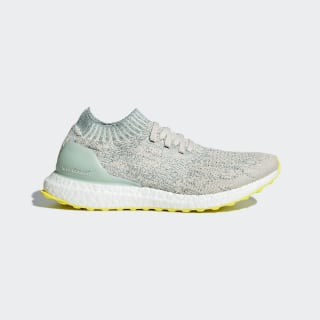 Ultraboost Uncaged Shoes Chalk White / Ash Green / Cloud White BB6489