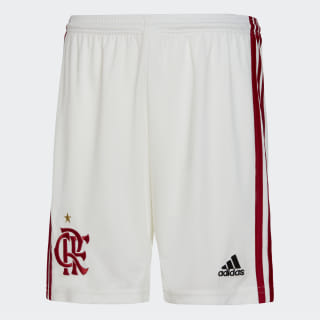 Shorts 1 CR Flamengo Core White / Scarlet DW3920
