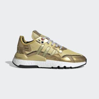 Tenis Nite Jogger Gold Metallic / Core Black / Gold Metallic EF5427