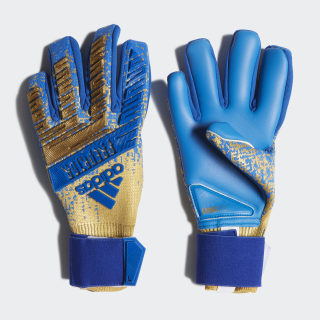Predator Pro Gloves Gold Met. / Football Blue DY2593