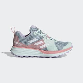Sapatos de Trail Running Two GORE-TEX TERREX Ash Grey / Cloud White / Glow Pink EH1842