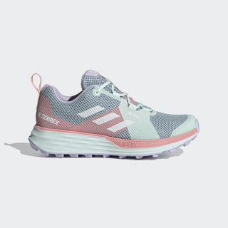 Terrex Two GORE-TEX Trail Running Schoenen Ash Grey / Cloud White / Glory Pink EH1842