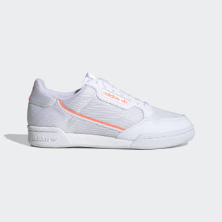 Continental 80 Schuh Cloud White / Signal Coral / Core Black EF6015