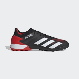 Predator 20.3 Turf Boots Core Black / Cloud White / Active Red EF1996