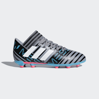 Tenis de Fútbol Nemeziz Messi 17.3 Terreno Firme Grey / Cloud White / Core Black CP9174