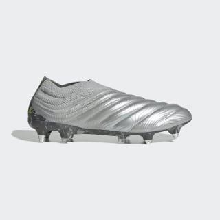 Botas de Futebol Copa 20+ – Piso Mole Silver Met. / Silver Met. / Solar Yellow EF8312