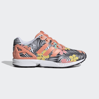 Sapatos ZX Flux Chalk Coral / Chalk Coral / Cloud White EG4116