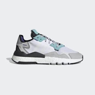 Nite Jogger Shoes Cloud White / Cloud White / Easy Mint EE5882