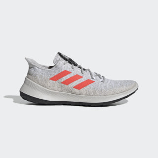 Sensebounce+ Shoes Grey One / Solar Red / Cloud White G27234