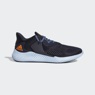 Кроссовки для бега Alphabounce RC 2.0 legend ink / solar orange / glow blue CG6939