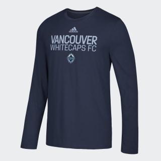 Vancouver Whitecaps Fc Locker Stacked Tee Mls-Vwh-Sv2 / Collegiate Navy DZ5877