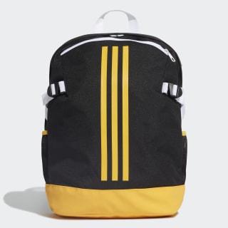 กระเป๋าสะพายหลัง 3-Stripes Power ขนาดกลาง Black / Active Gold / Active Gold DZ9440