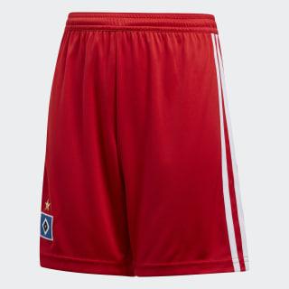 Hamburger SV Home Shorts Scarlet / White CF5439