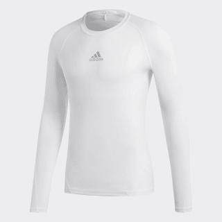 Alphaskin Sport Long-Sleeve Top White CW9487
