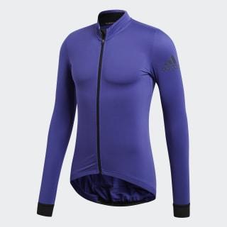 Maglia da ciclismo Climaheat Winter Blue / Energy Ink BR7815
