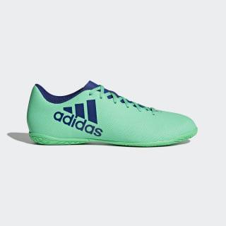 Chuteira X 17.4 Futsal AERO GREEN S18/UNITY INK F16/HI-RES GREEN S18 CP9151