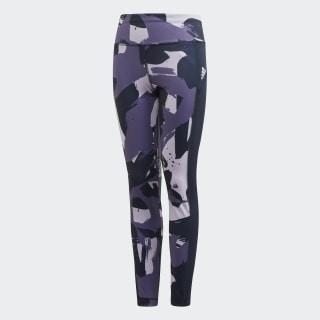 Allover Print Leggings Purple Tint / Tech Purple / Legend Ink FM5857