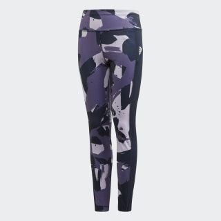 Allover Print Tights Purple Tint / Tech Purple / Legend Ink FM5857