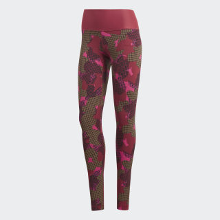 Believe This Tights Noble Maroon / Black CX0010