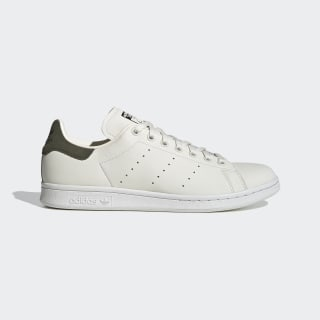 Stan Smith Schuh Off White / Crystal White / Night Cargo FV4117