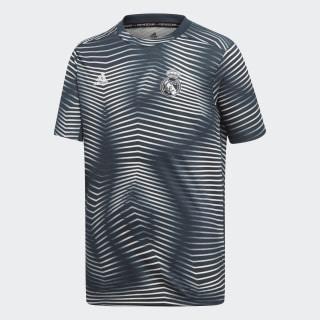 Camisa Real Madrid Pré-Jogo Tech Onix / Core White DP2917