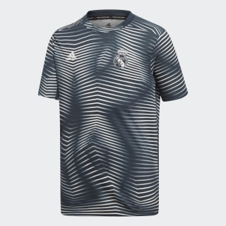 Camiseta Prepartido Real Madrid Tech Onix / Core White DP2917