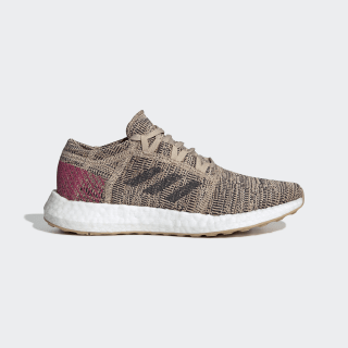 Pureboost Go Shoes Pale Nude / Carbon / Real Magenta B75825