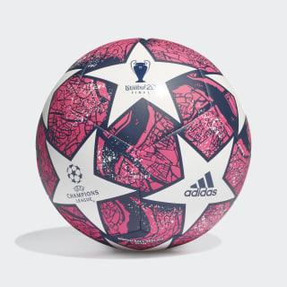 Balón UCL Finale Estambul Club White / Pantone / Dark Blue FH7377