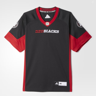 Redblacks Home Jersey Black / Power Red BA0629
