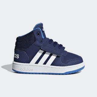 Hoops 2.0 Mid Shoes Dark Blue / Cloud White / True Blue F35834