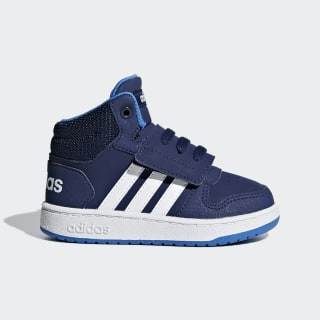 Hoops 2.0 Mid Shoes Blue / Cloud White / True Blue F35834