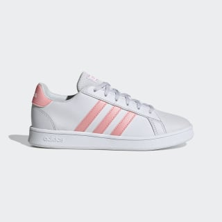 Grand Court Schoenen Dash Grey / Glory Pink / Cloud White EG1995