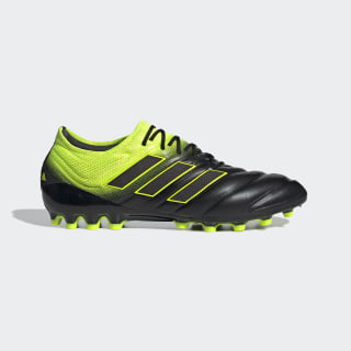 Copa 19.1 Artificial Grass Boots Core Black / Solar Yellow / Core Black F35840