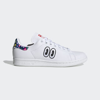 Sapatos Stan Smith Ftwr White / Active Red / True Pink CM8417