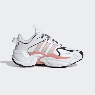 Magmur Runner Shoes Cloud White / Grey One / Glory Pink EG5435