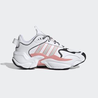 Magmur Runner Shoes Cloud White / Grey One / Glory Pink EG5435