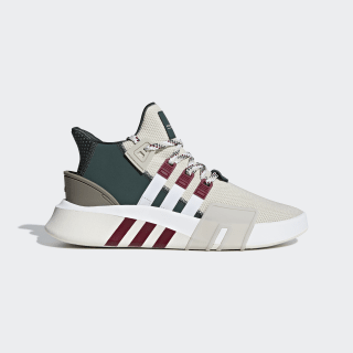 EQT Bask ADV Shoes Clear Brown / Cloud White / Collegiate Burgundy F33854