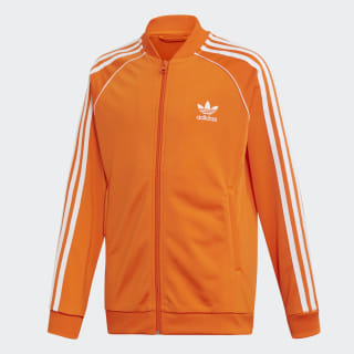 Track Jacket SST Orange / White EJ9378