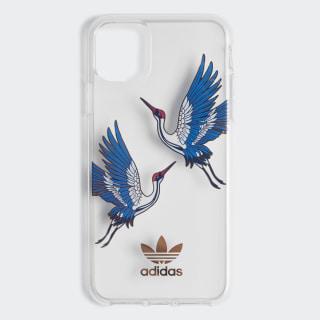 Capa Transparente CNY – iPhone de 6,5 polegadas de 2019 Collegiate Royal / Gold Metallic EW1769