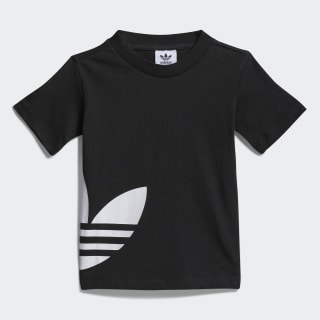 Big Trefoil Tee Black / White FM5607