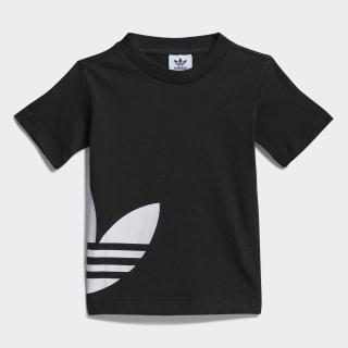 T-shirt Big Trefoil Black / White FM5607