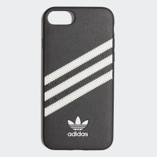Molded 3-Stripe CASE iPHONE 8 Black / White CK6169
