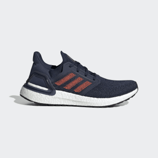 Chaussure Ultraboost 20 Collegiate Navy / Solar Red / Team Royal Blue EG0693