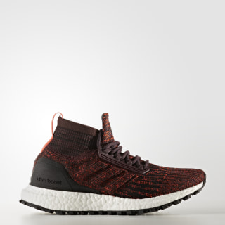Ultraboost All Terrain Shoes Dark Burgundy / Dark Burgundy / Energy CG3800