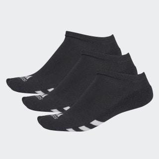 No-Show Socks 3 Pairs Black CF8443