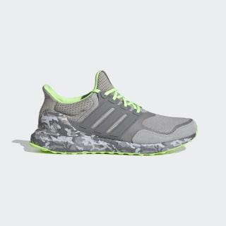 Ultraboost Shoes Grey Two / Grey Three / Signal Green FX8929
