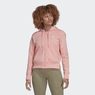 Ribbed hættetrøje Glory Pink FL1950