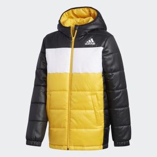 Утепленная куртка black / active gold / white FK5869