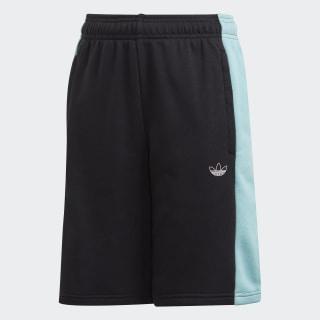 Panel Shorts Black / Blue Spirit / White GD2738